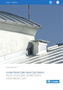 Lindab – Renkli Çelik Kenet Çatı Sistemi 2