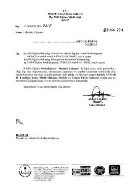 iB AGu 2014 - mersin - mezitli ilçe millî eğitim müdürlüğü