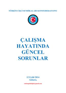 kamuda geçici statüde çalışan işçi sayısı - Türk-İş