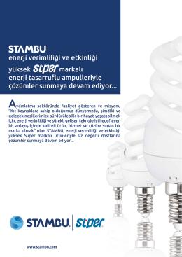 enerji verimliliği ve etkinliği yüksek markalı enerji tasarruflu