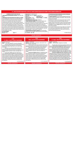 ilan ilan tc gelir idaresi başkanlığı antalya vergi dairesi