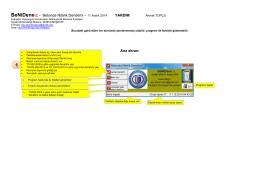Betonda Nitelik Denetimi – 11 Aralık 2014 YARDIM Ana ekran