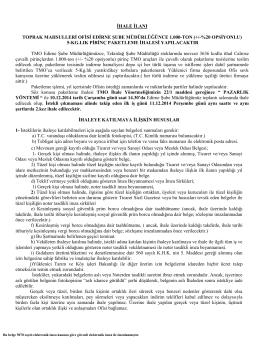 TOPRAK MAHSULLERİ OFİSİ