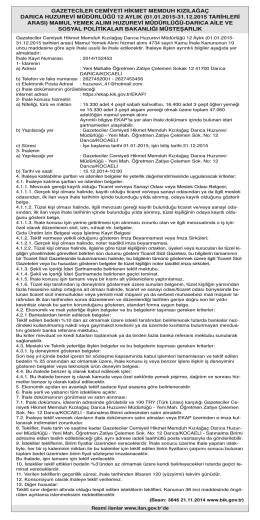 Huzurevi Müdürlüğü - Özgür Kocaeli Gazetesi