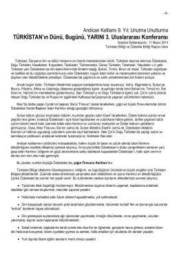 dosyayı indir - Türkistan Birliği