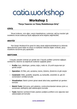 Workshop-1 İçeriği