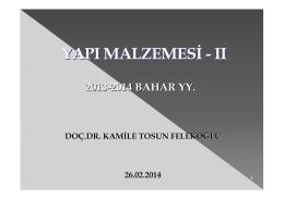 Yapi_Malzemesi II