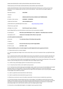 adana şube müdürlüğü ve bağlı işyerleri zincirli (red