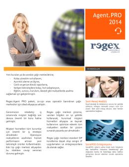 Agent.PRO 2014 - Regex çağrı merkezi sistemi