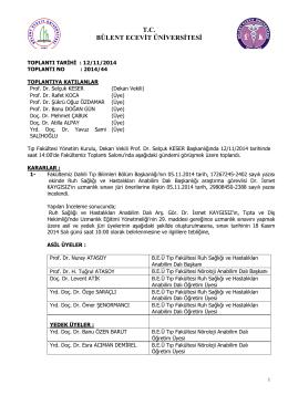 tc bülent ecevit üniversitesi - Bülent Ecevit Üniversitesi Fizik Bölümü