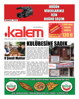 Kalem Gazetesi 48. Sayı