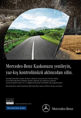 Mercedes-Benz Kaskonuzu yenileyin, yaz