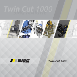 Twin Cut 1000 - SMG Makine