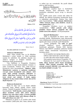 İslamda Şehitlik ve Fazileti