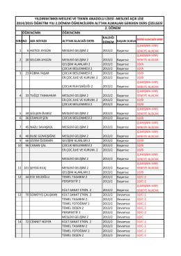 20132014 alttan dersler (Otomatik kaydedildi).xlsx