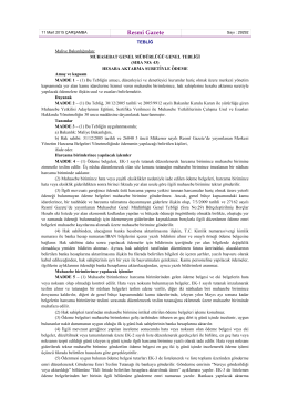 (Sıra No 43) – Hesaba Aktarma Suretiyle Ödeme