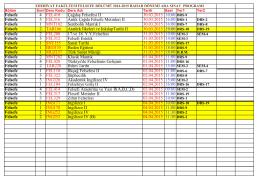 2014-2015 öğretim yılı bahar dönemi felsefe bölümü ara sınav