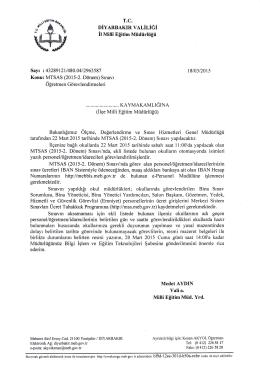 """""""fl ğ - Kayapınar İlçe Milli Eğitim Müdürlüğü"""