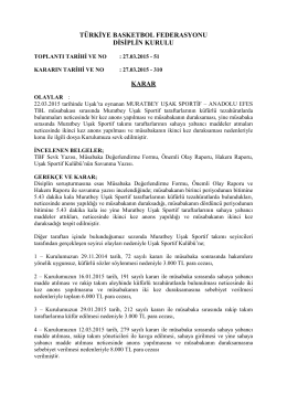karar 310 muratbey uşak sportif