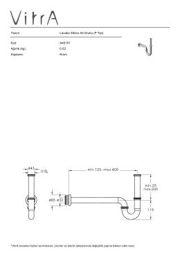 A45151 Ağırlık (kg)