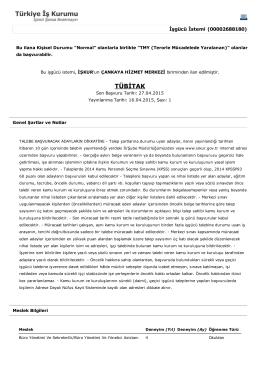 tubitak 10 kamu işçisi alımı ilanı detaylı pdf