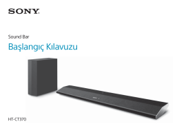 HT-CT370 - Sony Europe