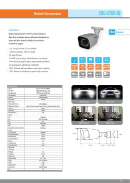 Karel CBG-171DR-02 Box Kamera PDF Dosyası198.57 KB