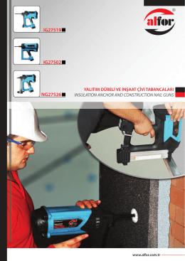 Yalıtım Dübeli Ve İnşaat Çivi Tabancaları / Insulation Anchor