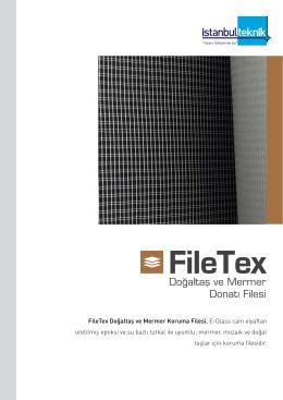 FileTex Doğaltaş ve Mermer Koruma Filesi, E