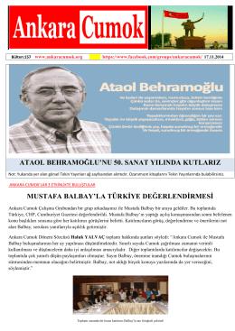 dosyayı indir - Ankara CUMOK