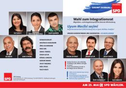 Wahl zum Integrationsrat Uyum Meclisi seçimi