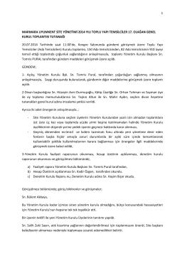 1 marmara uyumkent site yönetimi 2014 yılı toplu yapı temsilciler 17