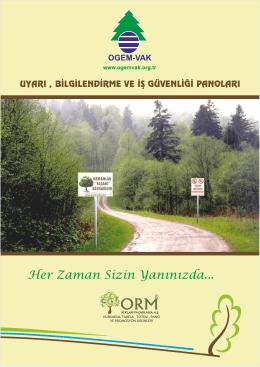 OGM Uyarı Ve Bilgilendirme - Ogem