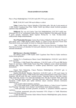 2014 HAZİRAN Kaleiçi 306 ada 9 parsel _KOMİSYON_