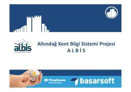 Altındağ Kent Bilgi Sistemi projesi [Uyumluluk Modu]