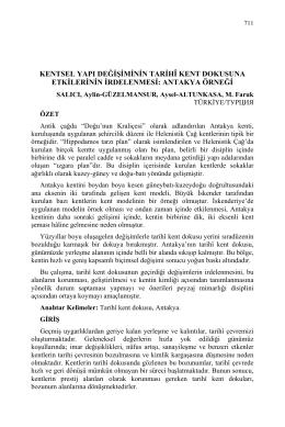 SALICI, Aylin-GÜZELMANSUR, Aysel-ALTUNKASA, M. Faruk