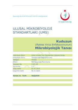 Kuduz - Türkiye Halk Sağlığı Kurumu