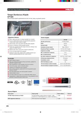 Yangın Durdurucu Köpük CP 620