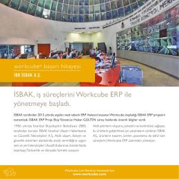 İSBAK, iş süreçlerini Workcube ERP ile yönetmeye başladı.