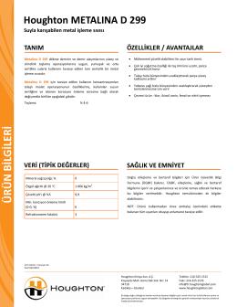 Metalina D 299_TDS_TR