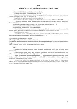 Ek-2. Tebliğ eki (8 Sayfa)