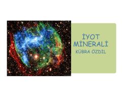 iyot minerali