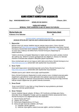 Dışişleri Dairesi - Kamu Hizmeti Komisyonu