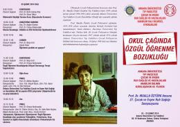 27.sempozyum programı - Ankara Üniversitesi Tıp Fakültesi