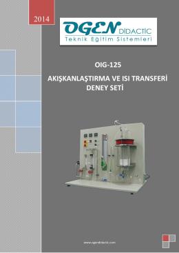 Deney NO - ogen didactic teknik eğitim sistemleri
