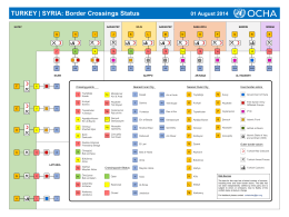 Border Crossing Status Update 01082014