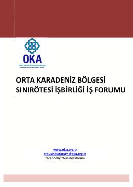 orta karadeniz bölgesi sınırötesi işbirliği iş forumu