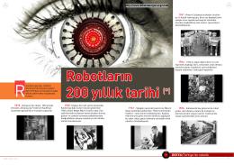 Robotların 200 yıllık tarihi