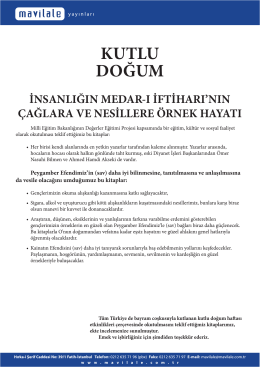 KUTLU DOĞUM - Mavi Lale Yayınları