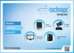 Ürün Kataloğu - Technopc® | Mini PC